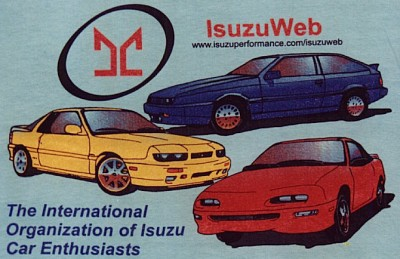 IsuzuWeb T-Shirt Back